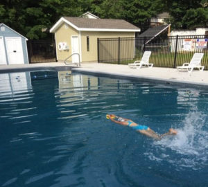 Country Aire Campground swimming pool